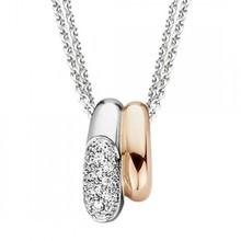 ROOS 1835 ROOS 1835 hanger 18k geeloud met 0.18ct diamant 036P18