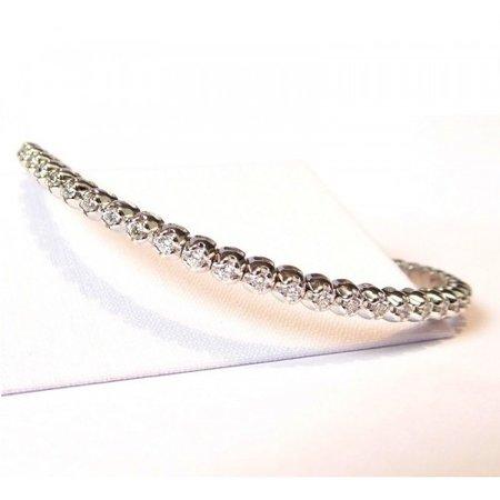 HuisCollectie HuisCollectie Tennisarmband 18k witgoud met 1.30ct Diamant H/Si 604302