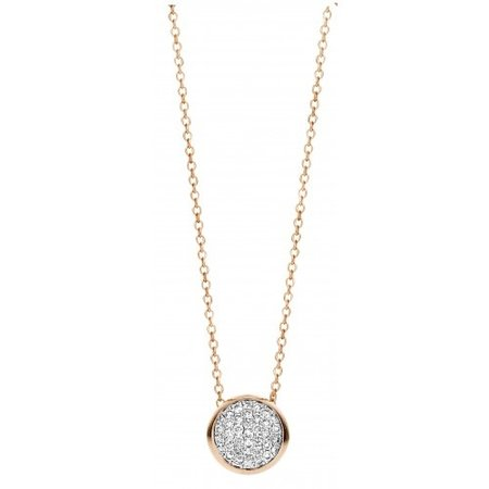 Tirisi Moda Tirisi Collier 18k roségoud met diamanten TN2093D(2P)