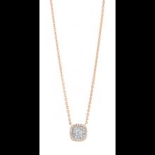 Tirisi Moda TIRISI Collier Amsterdam 18k roségoud met 0.22ct diamant TP9154D(2P)
