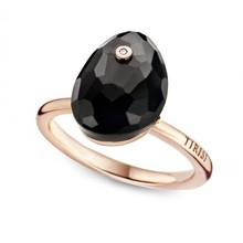 Tirisi Moda TIRISI Ring 18k geelgoud met onyx TM1055ON