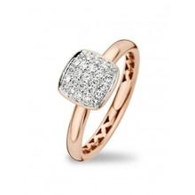 Tirisi Moda TIRISI Ring 18k Roségoud met 0.22ct diamant TR1112D(2P)