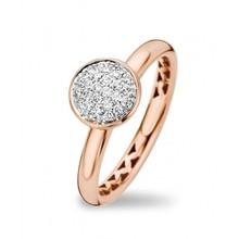 Tirisi Moda TIRISI Ring 18k Roségoud met 0.24ct diamant TR1117D(2P)
