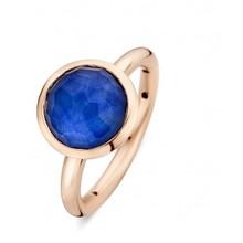 Tirisi Moda TIRISI Ring 18k Roségoud met blauw saffier triplet TR9709LSP
