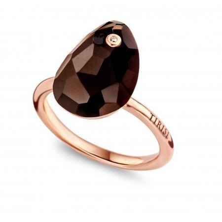 Tirisi Moda TIRISI Ring 18k Roségoud met oak kwarts TM1055SQP