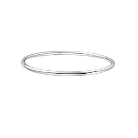 HuisCollectie HuisCollectie Armband 14k witgoud 3mm rond