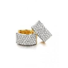 HuisCollectie HuisCollectie creolen 14K Geelgoud met diamant 1.40 crt 24070