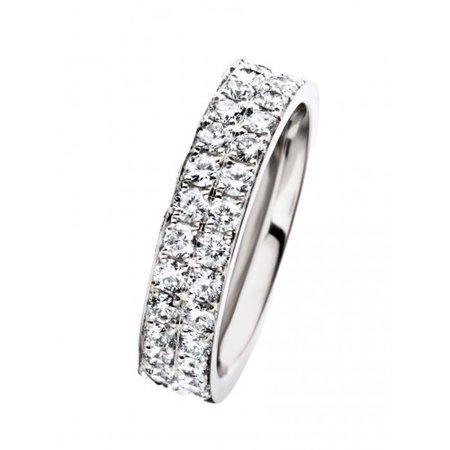HuisCollectie HuisCollectie Ring 14k witgoud met 1.20ct diamant 24067