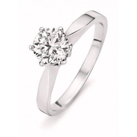 HuisCollectie HuisCollectie Ring 14k witgoud met diamant 1.02crt L/Si 601229