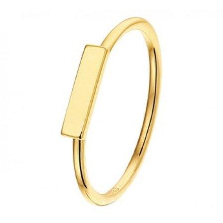 HuisCollectie HuisCollectie Ring geelgoud 14k balk 603331