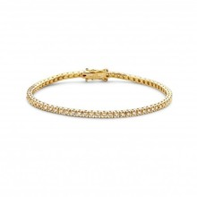 HuisCollectie HuisCollectie Tennisarmband 18k geelgoud met 1.25ct Diamant F/Si