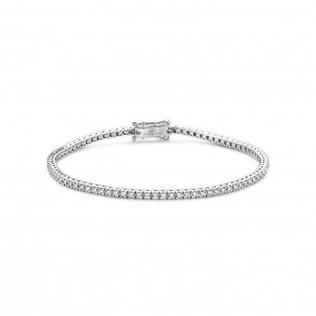 HuisCollectie HuisCollectie Tennisarmband 18k witgoud met 0.75ct diamant F/SI
