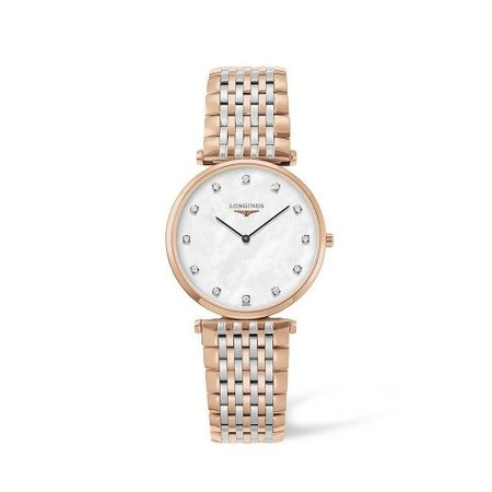 Longines LONGINES La Grande Classique Lady Diamonds 33mm Quartz L4.709.1.88.7