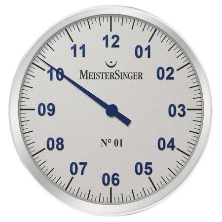 MeisterSinger MeisterSinger wandklok 39cm WUMEO1B