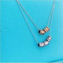 Minitials Minitials Benji Bead Necklace | 18CT GOLD