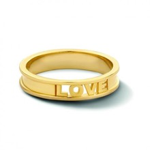Minitials Minitials Circle of Love Ring | 18CT GOLD