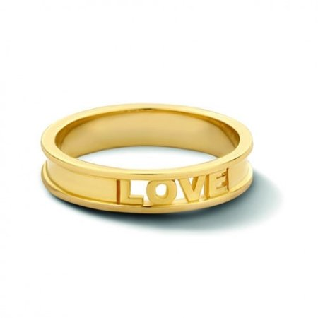 Minitials Minitials Circle of Love Ring | 18CT GOLD