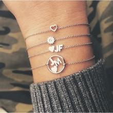 Minitials Minitials Symbol Chain Bracelet | 18CT GOLD