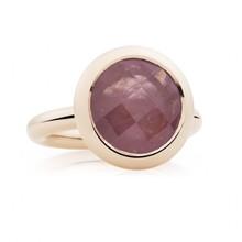Bron BRON Ring Sushi Roségoud 18k met roze korund 8RR4869SAS
