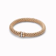 Fope FOPE Armband Flex-It Love Nest 18k Roségoud met 0.19ct diamant 451 BBRM/R