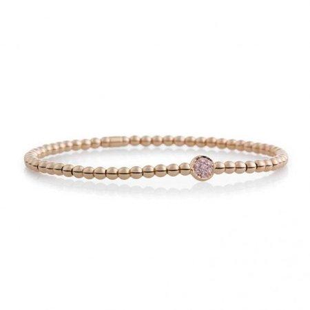 Bron BRON Armband Reflex 18k Roségoud 0.10ct champagne diamant 7AR3956CBR