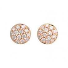 Bron BRON Oorknoppen Joy 18k Roségoud met 0.20ct diamant G/VVS 8OR4815BR