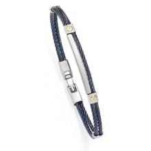Albanu Salvatore Bersani Armband Staal met 18k geelgoud SB106977