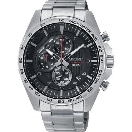 Seiko Seiko chronograph Heren Quartz horloge 44mm SSB319P1