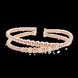 Tirisi Moda TIRISI Armband Amsterdam 18k rosegoud met 0.36ct diamant TB2070DP