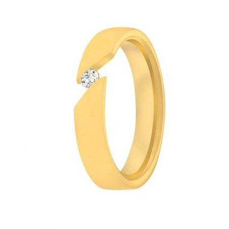 Aller Spanninga Aller Spaninga trouwringen 14k geelgoud 1014