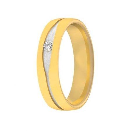 Aller Spanninga Aller Spaninga trouwringen 14k geelgoud 1007