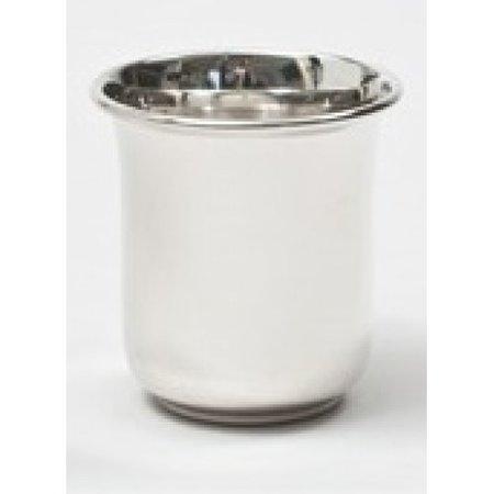 Keltum Kinderbeker zilver tulp 7cm 16300