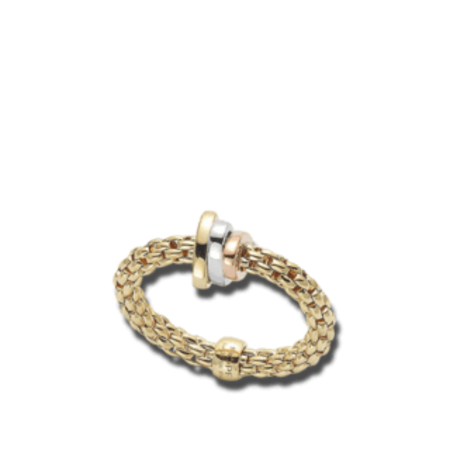 Fope FOPE Ring Flex-It 18k geelgoud AN744M G