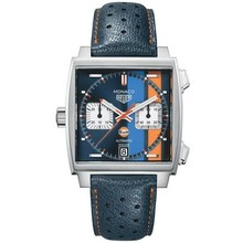 Tag Heuer TAG HEUER Monaco Gulf Calibre 11 Automatic Chronograph 39mm CAW211R.FC6401