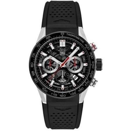 Tag Heuer TAG HEUER Carrera Calibre 02 Automatic Chronograph 45mm CBG2010.FT6143