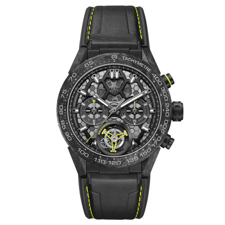 Tag Heuer TAG HEUER Carrera Calibre 02T Nanograph Tourbillon CAR5A8K.FT6172