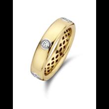 Tirisi Moda TIRISI Ring 18k Geelgoud met 0.31ct diamant TR1155D(2T)