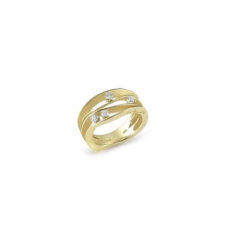Annamaria Cammilli Annamaria Cammilli Ring Dune 18k Geelgoud met 0.27ct diamant GAN0778Y