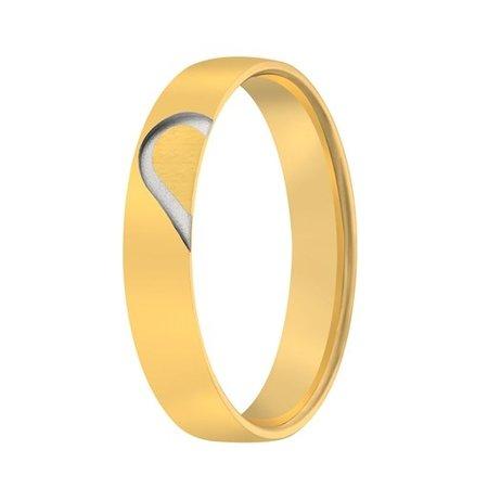 Aller Spanninga Aller Spaninga trouwringen 14k geelgoud 1043