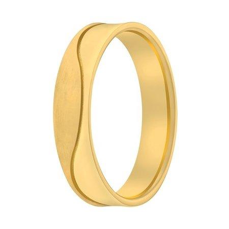 Aller Spanninga Aller Spaninga trouwringen 14k geelgoud 1024