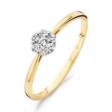 Blush Blush Ring 14k geelgoud met diamant 1611BDI