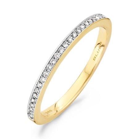 Blush Blush Ring 14k Geelgoud met diamant 1607BDI