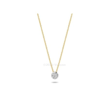 Blush Blush collier 14krt geelgoud met zirkonia 3057YZI - Copy