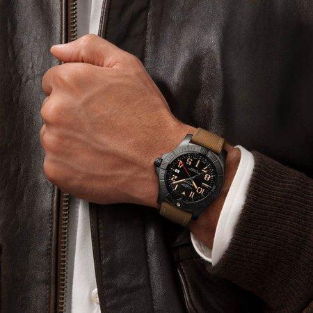 Breitling BREITLING Navitimer 01 B01 Chronograph 43mm AB0121211C1P1 met vouwsluiting - Copy - Copy - Copy - Copy - Copy