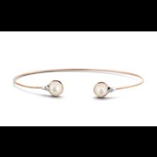 Tirisi Moda TIRISI Armband Amsterdam 18k rosegoud met 0.36ct diamant TB2070DP - Copy