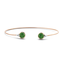 Tirisi Moda TIRISI Armband Amsterdam 18k rosegoud met 0.36ct diamant TB2070DP - Copy - Copy