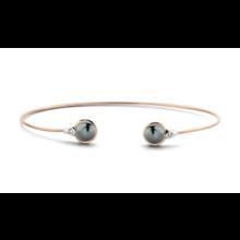 Tirisi Moda TIRISI Armband Seoul 18k rosegoud met 0.03ct diamant en markasiet TB2122HMP