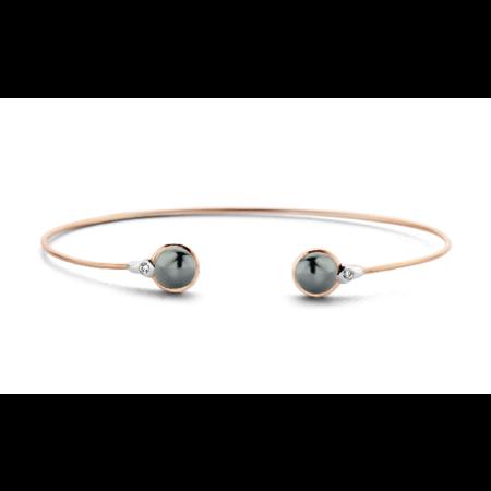 Tirisi Moda TIRISI Armband Amsterdam 18k rosegoud met 0.36ct diamant TB2070DP - Copy - Copy - Copy - Copy