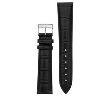 Frederique Constant Frederique Constant horlogeband 22-18 MM Zwart zonder gesp FCS-B22X18-ZG