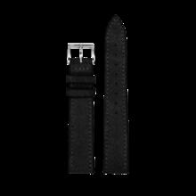 MeisterSinger MEISTERSINGER horlogeband 18mm zwart velours SV11